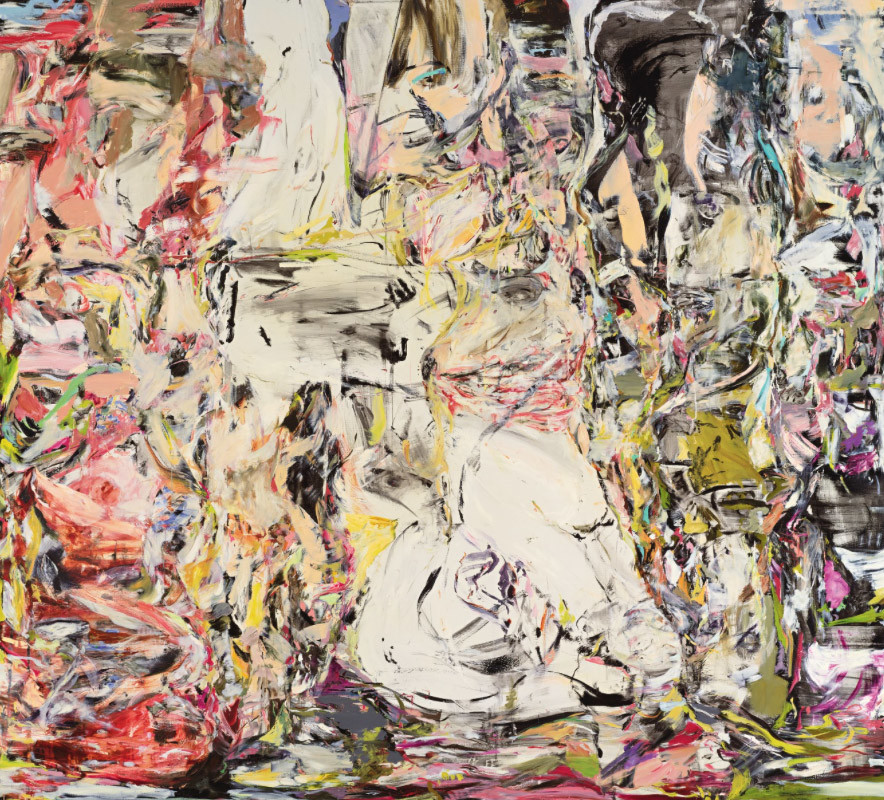 Copyright :Cecily Brown, Suddenly Last Summer, signed, titled and date 1999 on the reverse