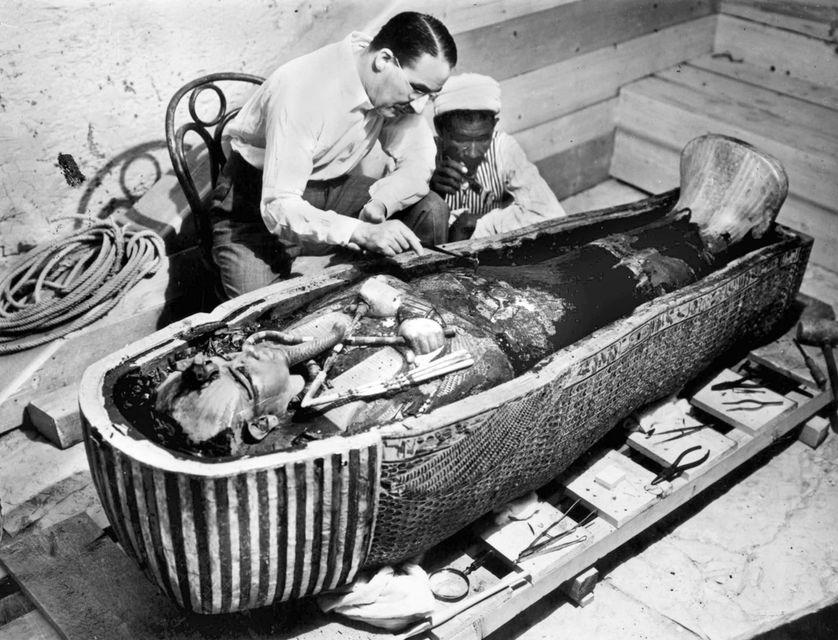 Howard Carter - Toutankhamon
