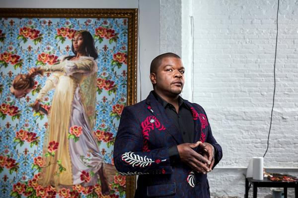Kehinde Wiley , artskop
