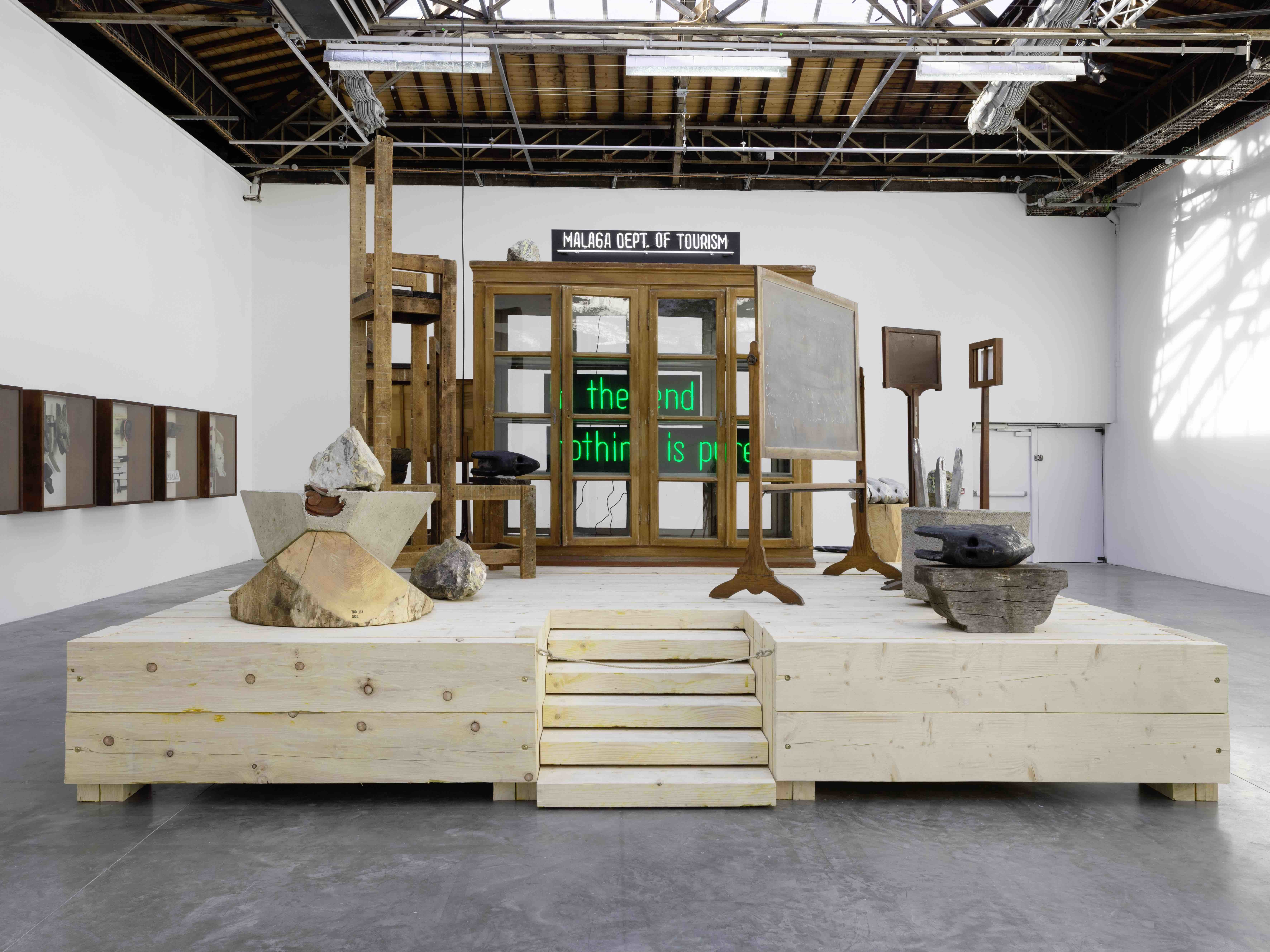 - artskopView of the exhibition «Amalgam» by Theaster Gates, Palais de Tokyo, 2019 - Photo credit : André Morin
