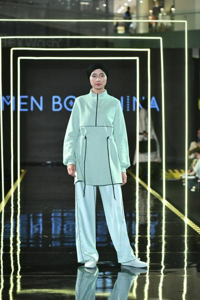 Modest Fashion Week, Jakarta (Indonesia) RTW Collection 2018 Bousnina, Imen © Dandy Hendrata