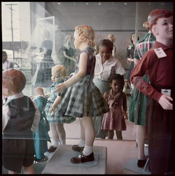 Gordon Parks 'Ondria Tanner and Her Grandmother Window-Shopping', Mobile, Alabama, 1956 Copyright and courtesy of the Gordon Parks Foundation