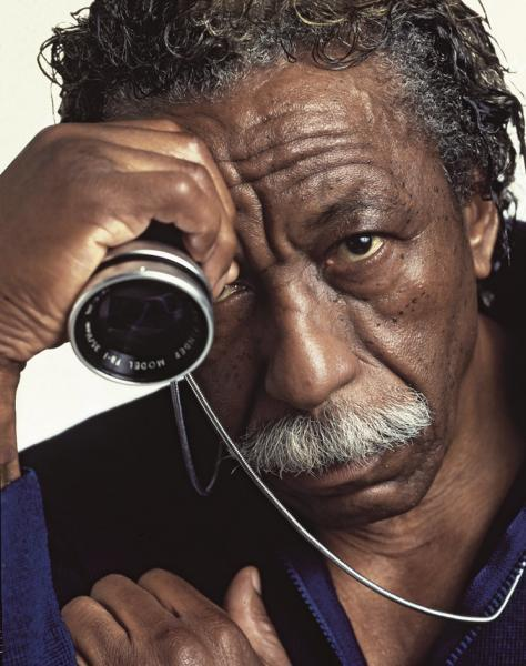 Gordon Parks, New York,1985 4 x 5 transparency film © Carlos Eguiguren