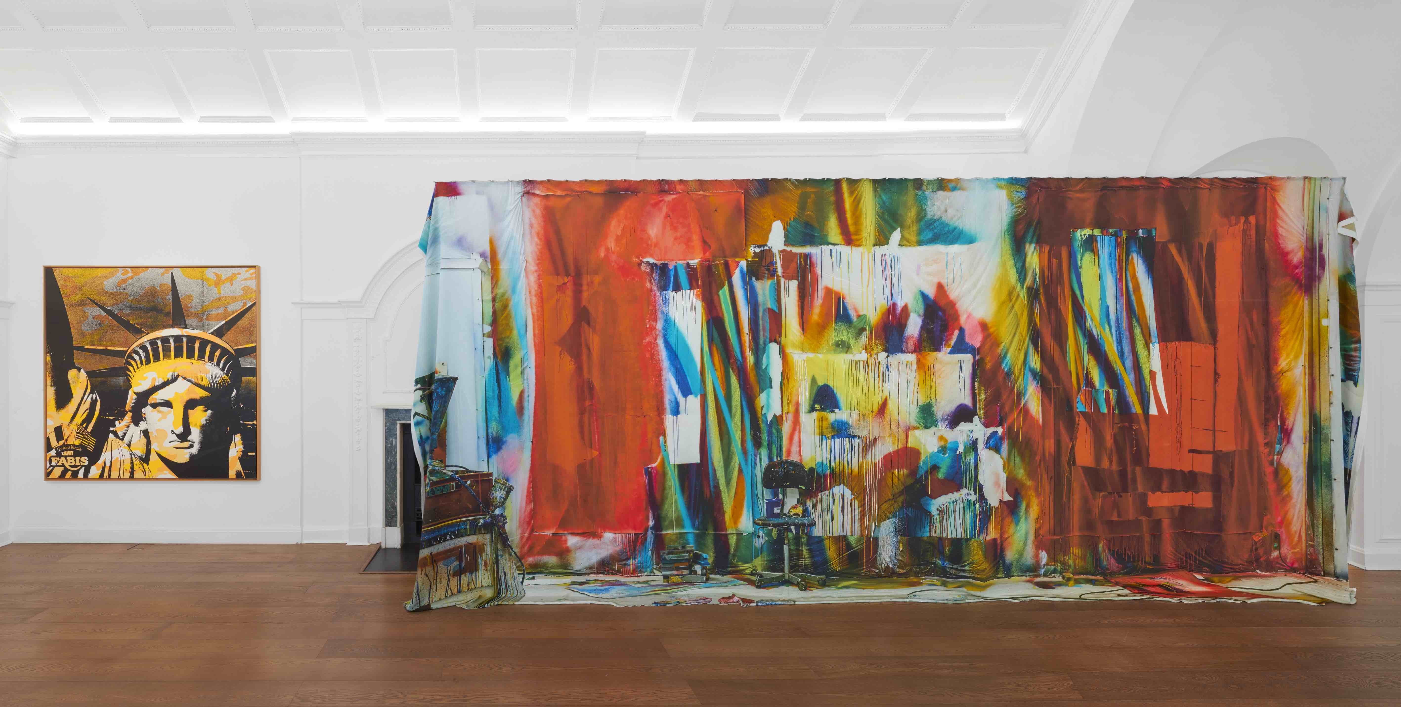 Installation view, Artists I Steal From, curated by Alvaro Barrington and Julia Peyton-Jones, Galerie Thaddaeus Ropac, London, 5th June – 9th August 2019 Copyright the artists, courtesy Galerie Thaddaeus Ropac, London • Paris • Salzburg Photo: Ben Westoby
