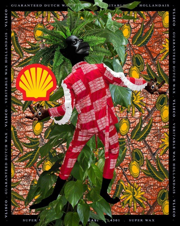 © Kadara Enyeasi Kadara Enyeasi, Untitled VI, 2019, L'ouverture: Fauna I, Collage digital.