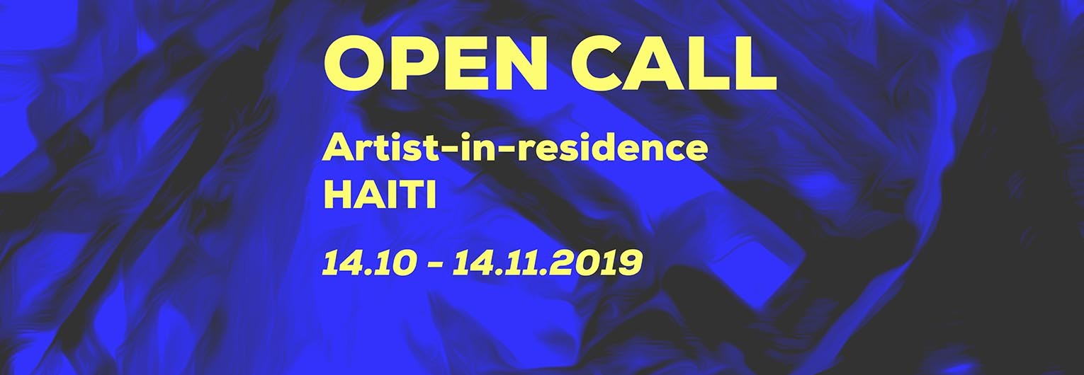 Open Call for an artist residency at le Centre d'Art in Haiti. send your application before 16th of August MIDNIGHT GMT © Fresh Milk, Le Centre d'Art, UNESCO,