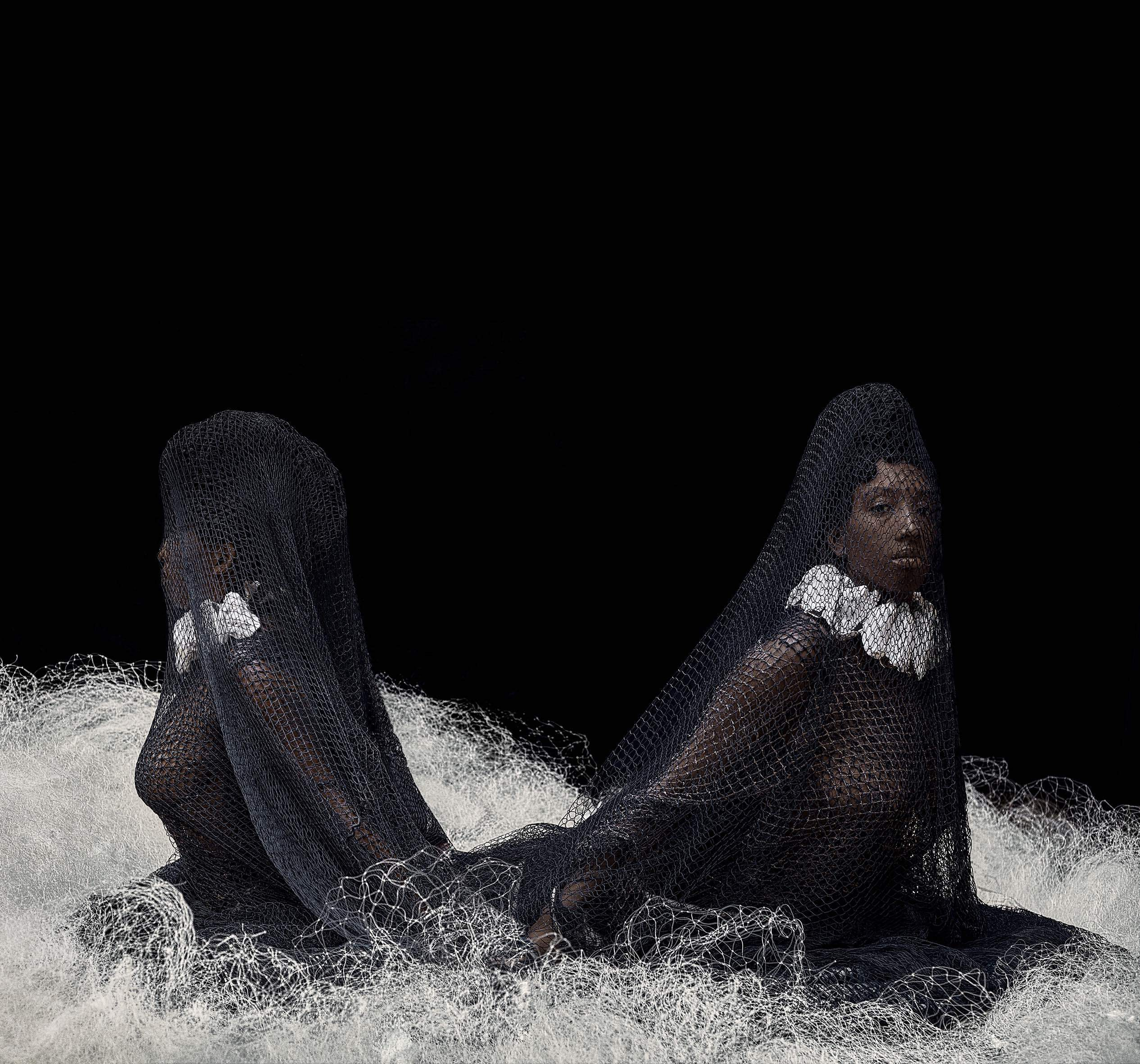 Ayana V. Jackson, Double Goddess ... A Sighting in the Abyss, 2019 © Courtesy Mariane Ibrahim Gallery