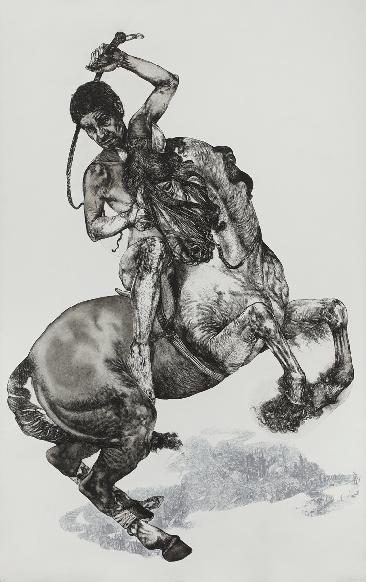 Diane Victor B.1964 South Africa Bayard (from the Four Horses series) 2009 R 90,000 - R 120,000 Modern & Contemporary Art Aspire Auction 1st September 2019 Cape Town