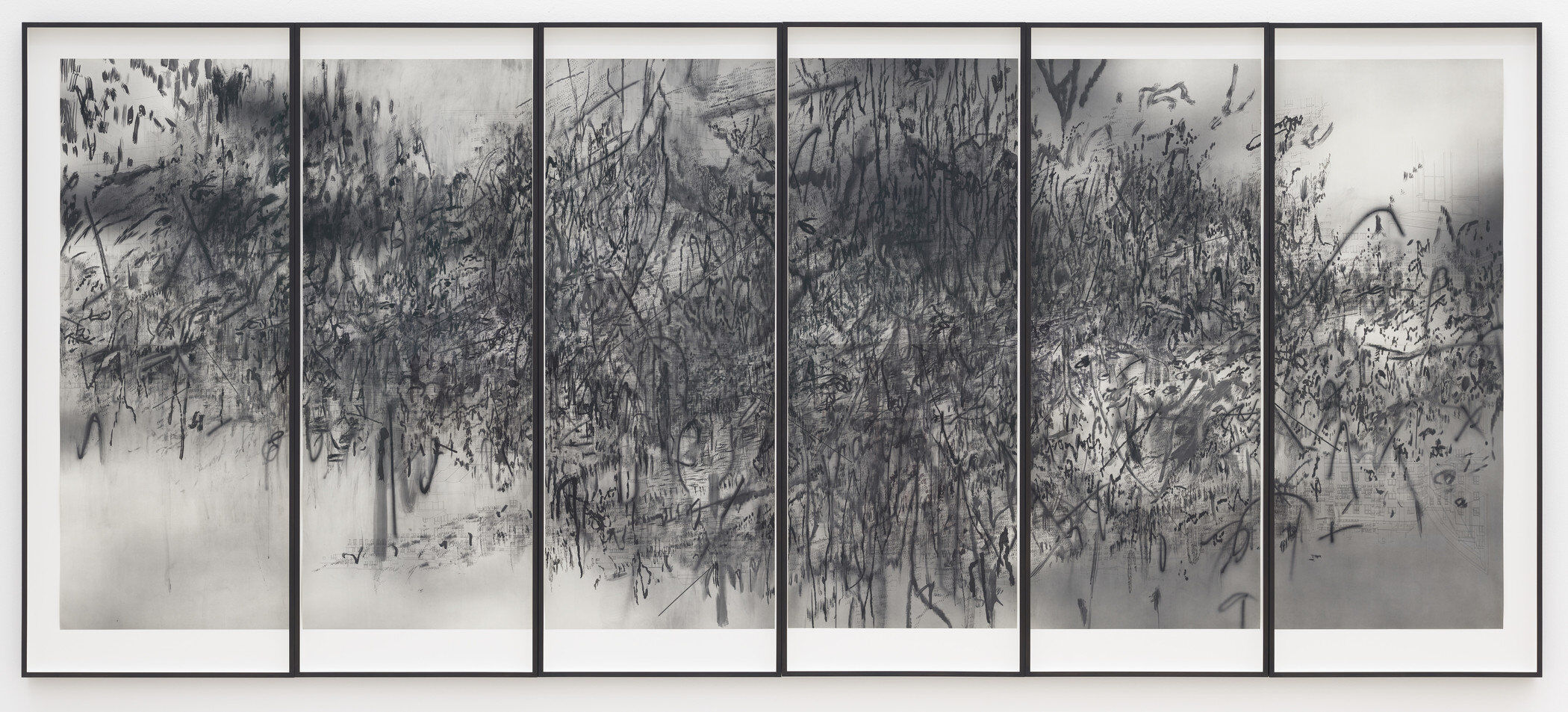 Julie Mehretu retrospective at LACMA & Whitney museum
