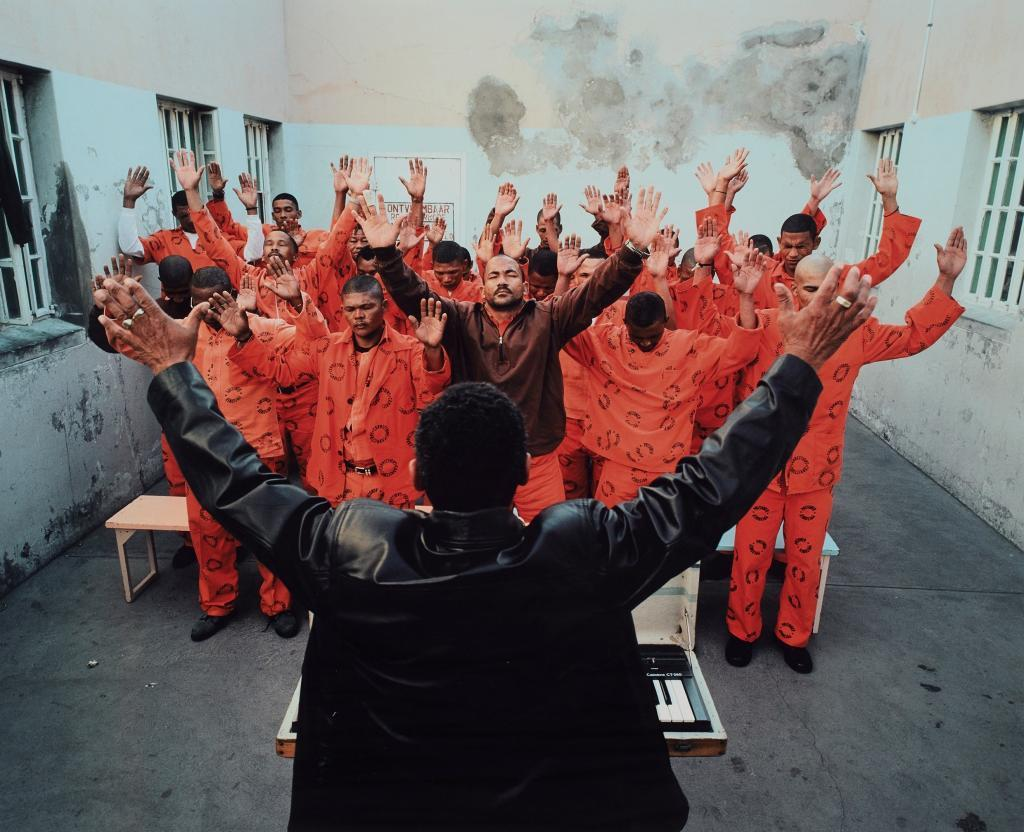 Mikhael Subotzky, Sunday Service, Beaufort West Prison, 2006 | SOLD FOR R193 460 (Second highest price at auction for the artist)