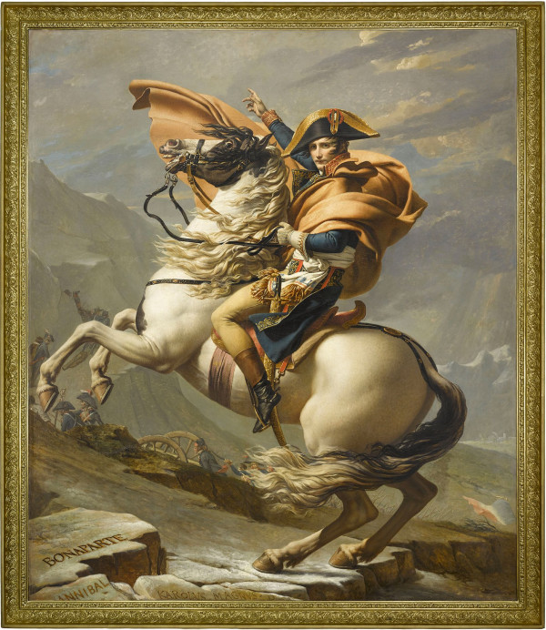 Jacques-Louis David Meets Kehinde Wiley