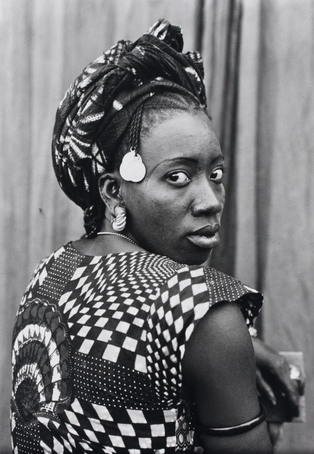 Seydou Keita, Untitled, 1952 -1955. The Way She Looks: A History of Female Gazes in African Portraiture. © Courtesy The Walther Collection.