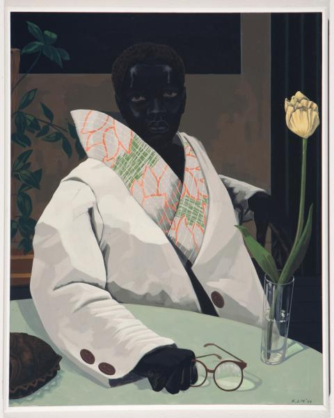 Kerry James Marshall, Portrait of a Curator (In Memory of Beryl Wright), 2009. © Kerry James Marshall Photo: Courtesy of the artist and Jack Shainman Gallery, New York