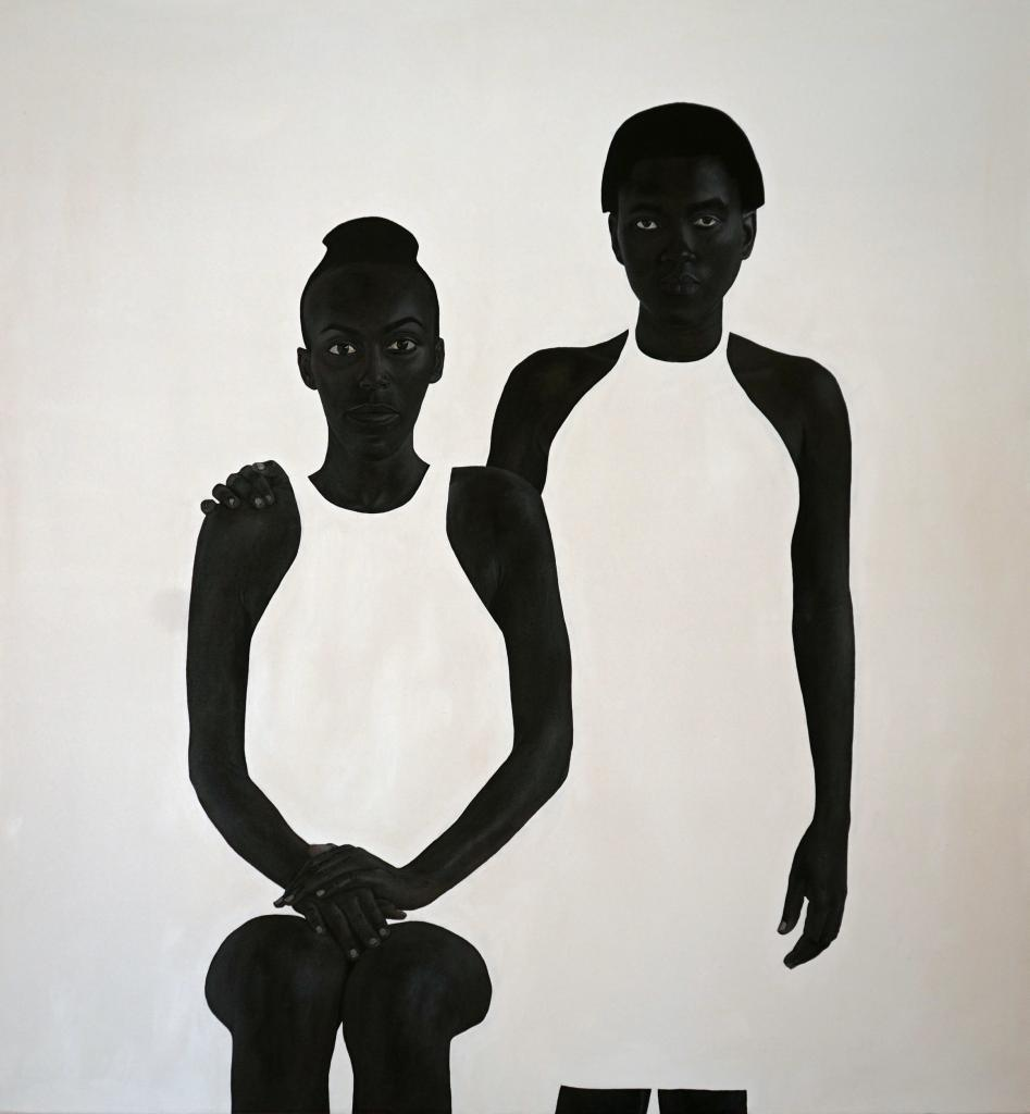 Sungi Mlengeya, Still, 2020, Acrylic on canvas, 140x130cm
