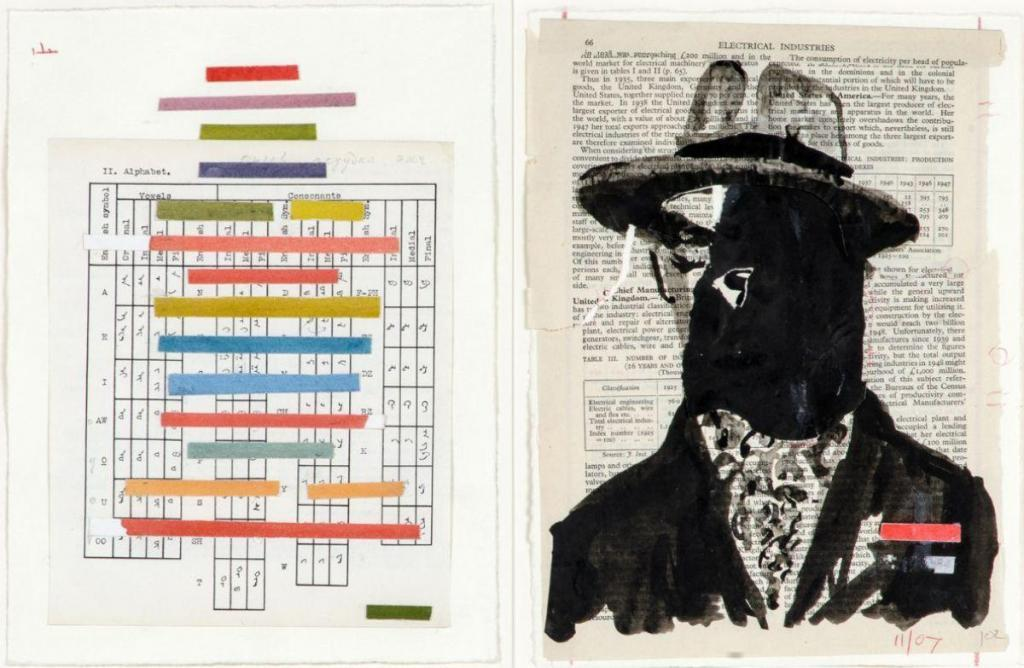 William Kentridge, Electrical Industries (Rodchenko), Alphabet Coloré, 2007–2008 | SOLD FOR: €18,200 Piasa Auction