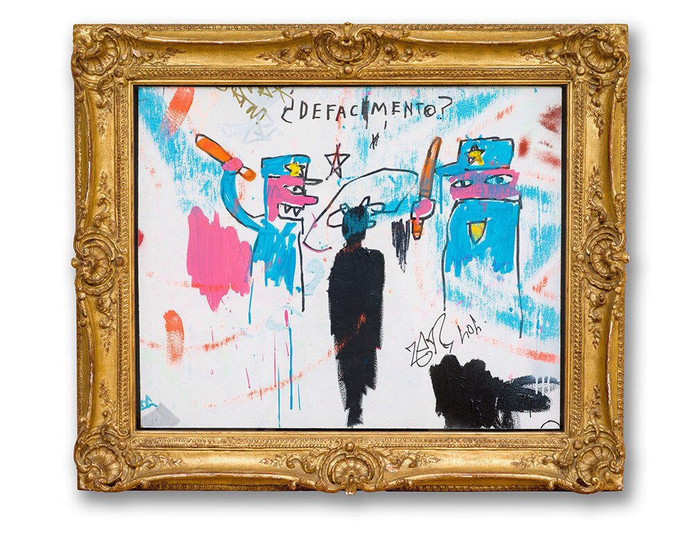 Jean-Michel Basquiat  Defacement (The Death of Michael Stewart) 1983 Collection of Nina Clemente