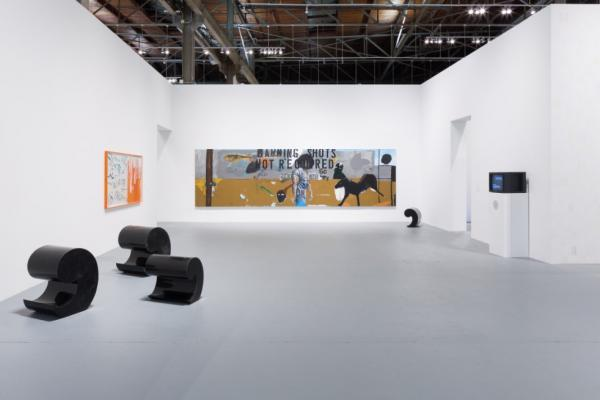 Installation view of The Foundation of the Museum: MOCA's Collection, May 19, 2019–January 27, 2020 at The Geffen Contemporary at MOCA. Courtesy of The Museum of Contemporary Art. Photo by Zak Kelley.