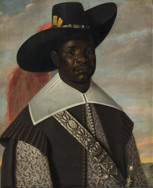 Jasper or Jeronimus Beckx, Portrait of Dom Miguel de Castro, 1643. From the exhibition HERE: Black in Rembrandt's Time