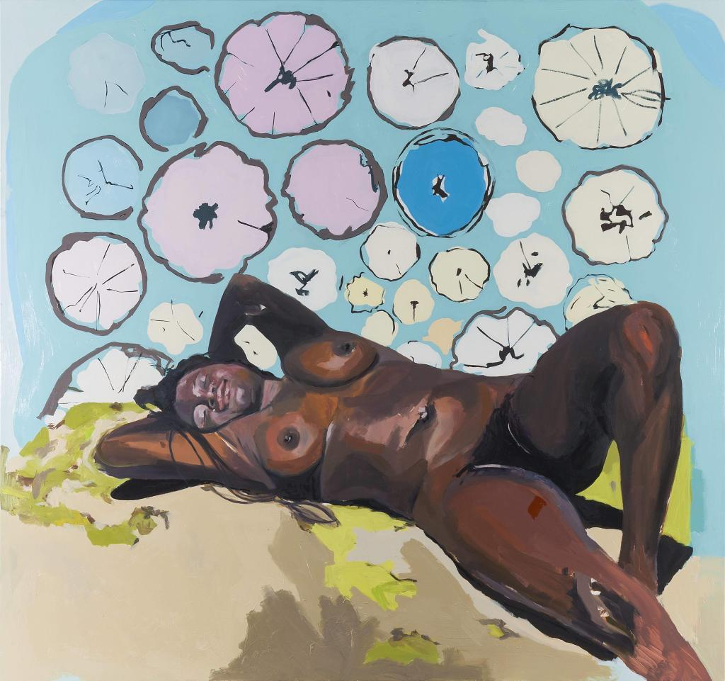 Kudzanai Violet Hwami, Eve on Psilocybin, 2018. Courtesy Tyburn Gallery