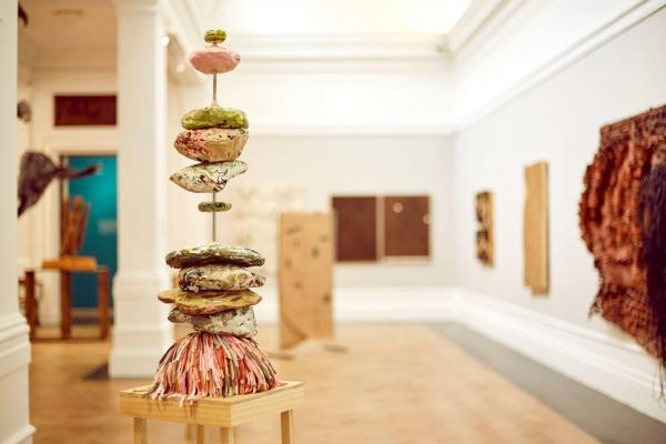 Photograph: Marla Burger © Iziko Museums of South Africa, Matereality view of the installation