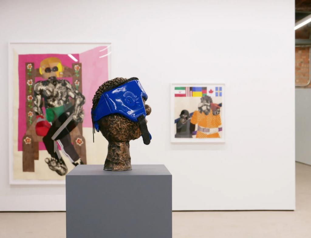 THE CONTEST, view of the exhibition at Mariane Ibrahim Gallery © Mariane Ibrahim Gallery