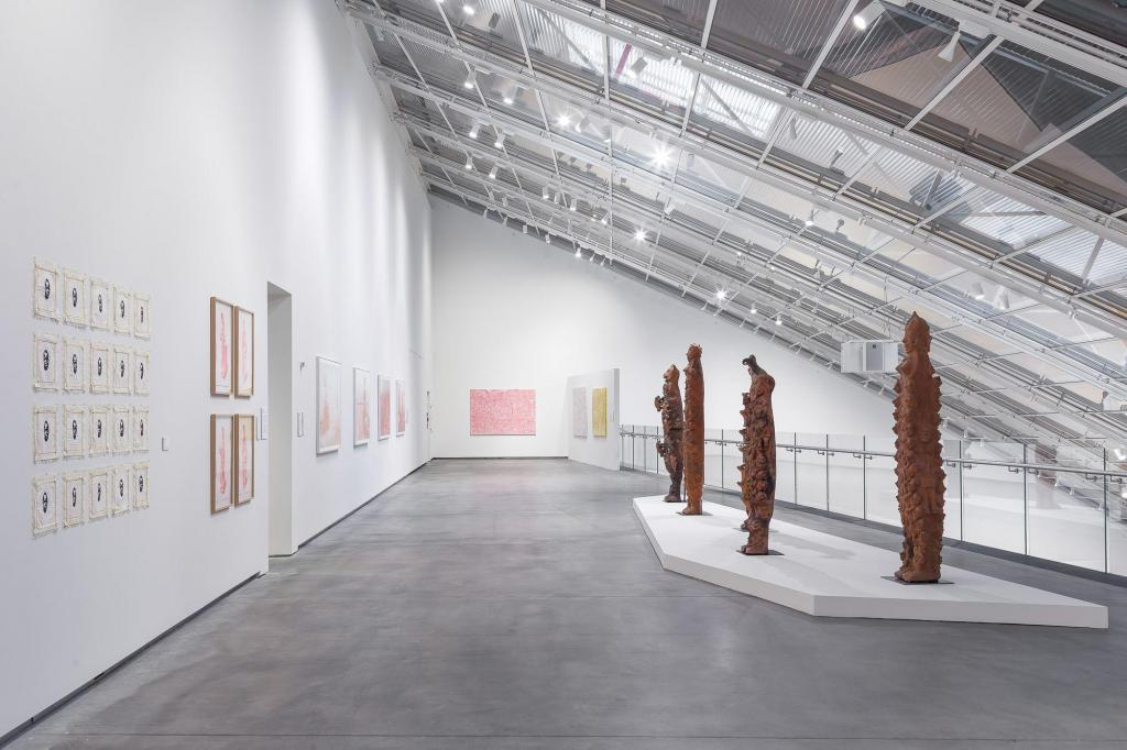 "Installation view of the exhibition ""Alpha Crucis"" at Astrup Fearnley Museet. © Astrup Fearnley Museet."