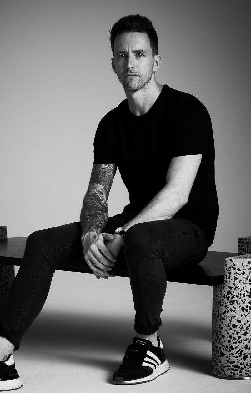 Ross Robertson, founder of Oliver Whyte, multidisciplinary design studio. © Ross Robertson