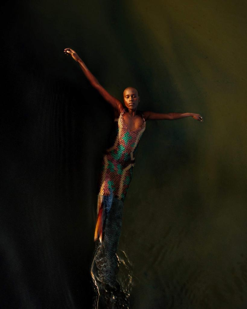 "David Uzochukwu, Buoyant, 2019 From the series ""Drown in my magic"""
