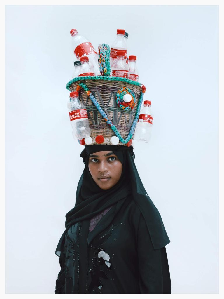 Kristin-Lee Molmen, Khadija Amini, Lamu, 2020. Photography available to collect. 95% of sales go to New Leaf Rehabilitation Center in Kenya. Click to buy the work. 28 Hats for Lamu
