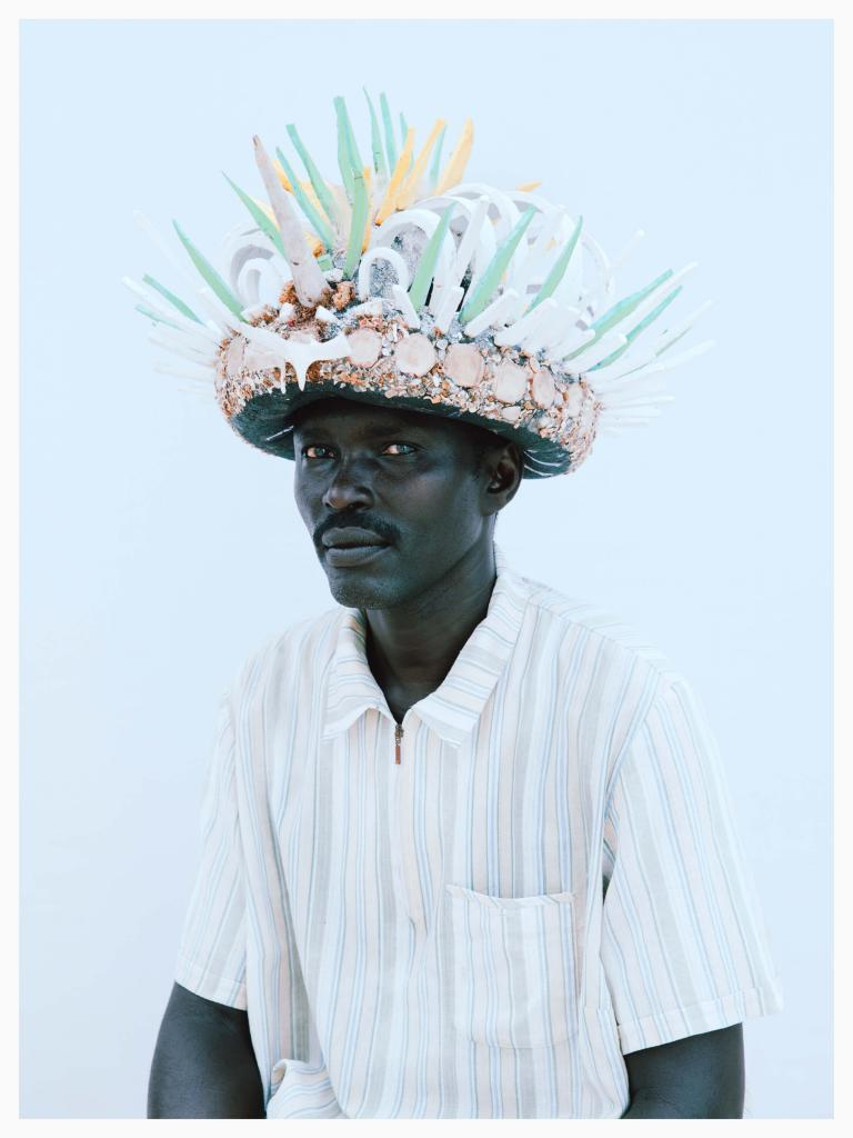 Kristin-Lee Molmen, Isamael Dakota, Lamu, 2020. Photography available to collect. 95% of sales go to New Leaf Rehabilitation Center in Kenya. Click to buy the work. Free Shipping with code ART15 28 Hats for Lamu