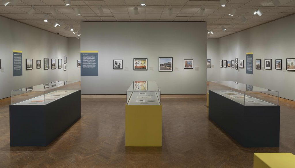 "View of the exhibition ""Todd Webb: Outside the Frame"" in Harrison Photography Gallery (G363-G365) at Minneapolis Institute of Art. Exhibition on view at Mia January 2, 2021 - June 13, 2021. Organized by Minneapolis Institute of Art."