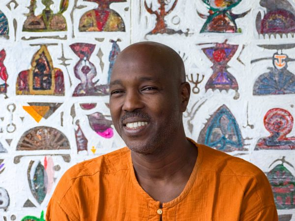 Hussein Salim says the journey of an artist is to find his place in the world. Salim's place is in South Africa. Picture by Clint Strydom