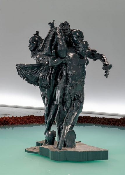 Miles Greenberg large scale sculptures